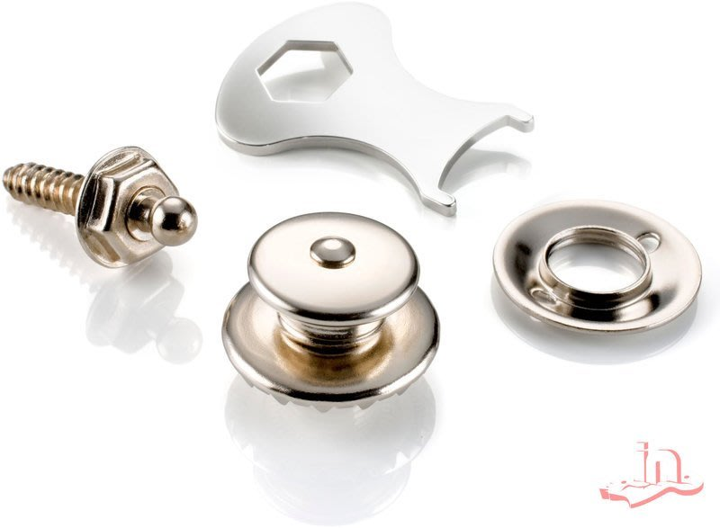 『硬地搖滾』全館$399免運!Loxx 德國製 安全肩帶釦 – 銀(電鍍鎳) LOXX-E-Nickel