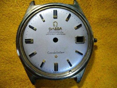 Omega 亞米茄星座 CONSTELLATION 原裝零件(面盤/殼/膠鏡)