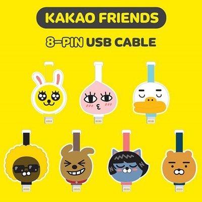 TOUCH-KR 正韓 Kakao Friends 充電線 傳輸線│蘋果 8 pin Micro 5 Pin│z6980