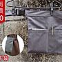 筷子袋☆灰色☆扣環設計☆隨身收納袋A2