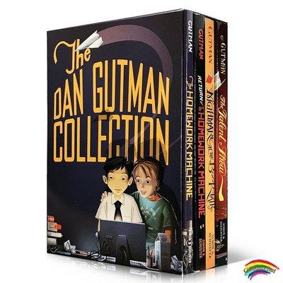 英文原版小說The Dan Gutman Collection: The Homework Machine瘋狂學校my weird school同作者 章節橋梁
