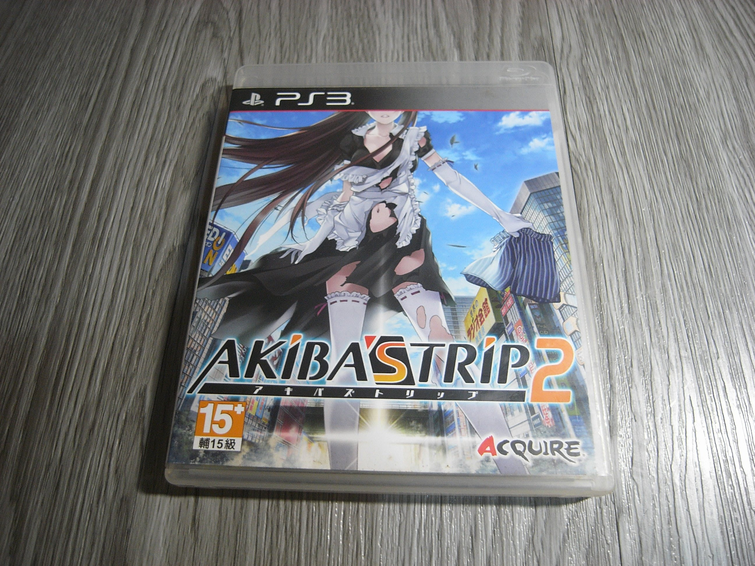 二手 AKIBAS TRIP 2 秋葉原脫物語 2 純日版 PS3 遊戲片
