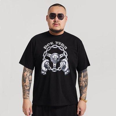 Cover Taiwan 官方直營 西岸 老墨 跳跳車 Lowrider 嘻哈 短Tee 短袖 黑色 大尺碼 (預購)