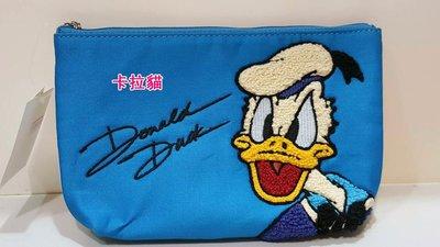 台南卡拉貓專賣店 日本海洋迪士尼園區帶回 唐老鴨 生氣款 筆袋 化妝包 08101 可明天到