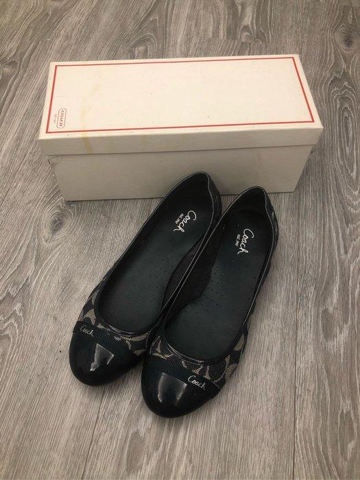 保證正品COACH娃娃鞋 8.5號  9成新 免運費