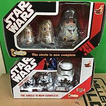 Hottoys ht star wars chubby obi wan stormtroopers 星球大戰 mms darth vader luke yoda