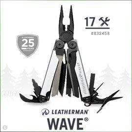 【ARMYGO】Leatherman WAVE 工具鉗-黑銀限定款 #832458
