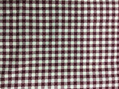 【露西小舖】(暗紅格紋)裁縫布料/棉布/拼布材料/手作布料/糖果枕布料/手提袋提包布料/桌巾布料/便當袋布料/收納袋布料