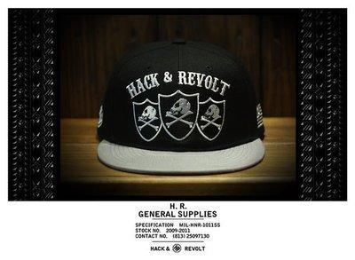 Hack&Revolt Death Troopers Snapback Cap 骷髏刺繡棒球帽 【公館HOME BASE專賣店】