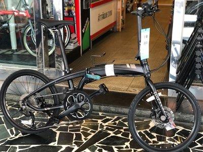 (J.J.Bike) Tern Verge D9 輕量摺疊車 451輪組 可刷國旅卡 24期分期零利率 DAHON可參考