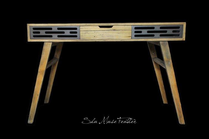 【曙muse】簡約造型木質桌( 限量1個 )