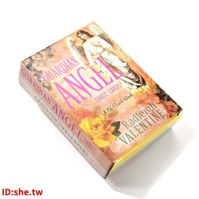 現貨~嚴選~全新 Guardian Angel Tarot Cards: A 78-Card Deck~xoia3049