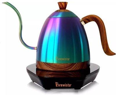 Brewista Artisan 600ml細長嘴可調溫不銹鋼電水壺--限量·彩虹.手沖師比賽專用壺 (免運費)