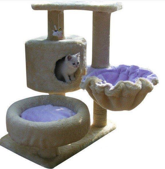 【格倫雅】^愛咪貓爬架573/寵物玩具/貓咪用品/貓窩/貓玩具/貓樹/貓抓板/貓架18