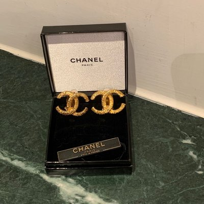 Chanel vintage 耳環