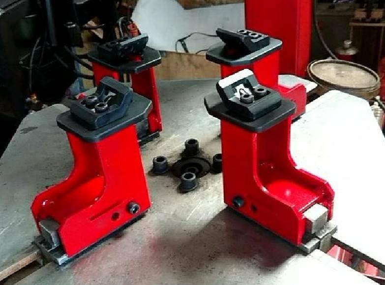 【鎮達】拆胎機配件 機車拆胎機 拆胎爪夾具/爪子保護套 一組4個 適用: ST-01 、 Win-308