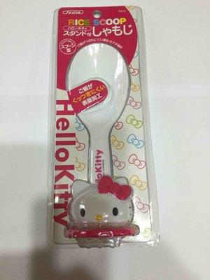 日本 三麗鷗 Hello Kitty 凱蒂貓直立式 飯匙 附座飯匙造型飯匙