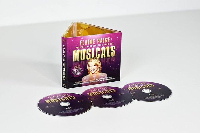 正版3CD音樂劇精選/Elaine Paige Presents Showstoppers from the Music