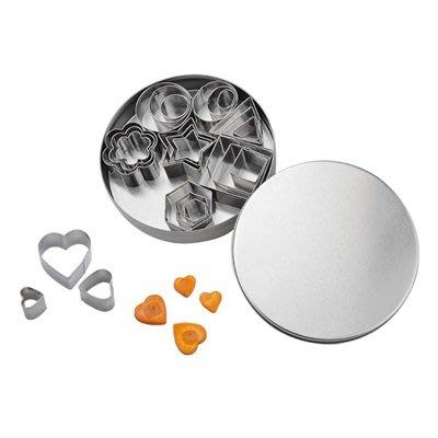 餅乾模型 不鏽鋼模具(1組)-24件套烘焙工具蔬菜切花器73pp523[獨家進口][巴黎精品]