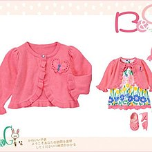 【B& G童裝】正品美國進口GYMBOREE蝴蝶裝飾長袖針織罩衫外套12-18-24mos