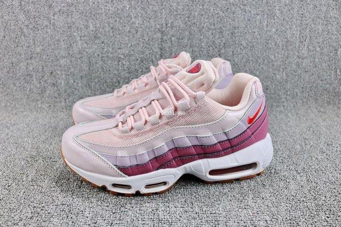 Nike AIR MAX 95 粉紅色 經典復古 氣墊 休閒運動慢跑鞋 女鞋 307960-603