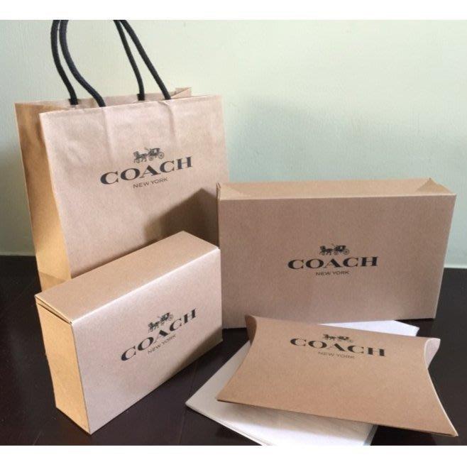 JJ美國代購~COACH  全新 小派盒 特小紙盒 小紙盒 + 紙袋 一套 另售  MK 57990 12186