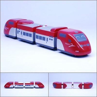【喵喵模型坊】TOUCH RAIL 鐵支路 Q版 荷比法THALYS小列車 ( QV042T1)