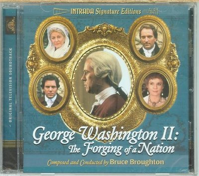"George Washington II-Forging of a Nation""- B. Broughton,美版32"