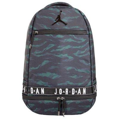 NIKE JORDAN 黑綠 迷彩 休閒 運動 背包 籃球 後背包 雙肩 9A0093-K7C 請先詢問庫存
