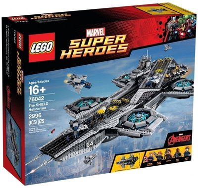 Lego 76042 Marvel Super Heroes SHIELD Carrier ( new sealed )