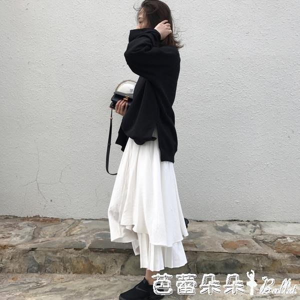 早秋款兩件套裝女裝年新款衛衣半身裙子洋氣減齡春秋裝薄款潮 YXSH