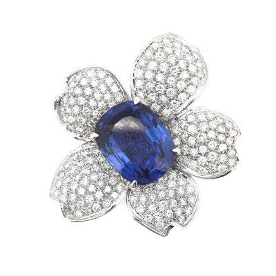 【JHT 金宏總珠寶/GIA鑽石專賣】天然丹泉石胸針(JB43-A46)