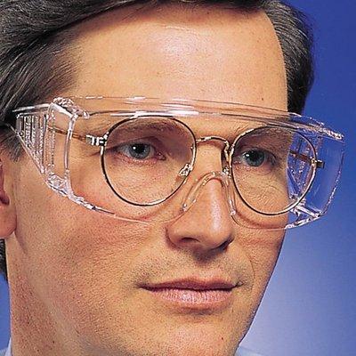 【工業安全網】台灣最普及的運動/騎車PC材質防護工業安全眼鏡S-600透明片灰色片老花/近視眼鏡可戴抗武漢肺炎防疫必備