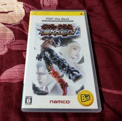 PSP 鐵拳 純日版 (編號203)