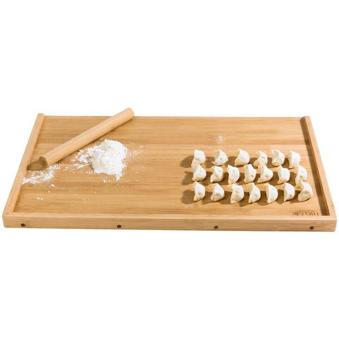 千夢貨鋪-家用搟面板竹板長方形和面板廚房切菜板非實木大號揉面案板不粘柳#搟面杖#菜板#長筷子#實木#打蛋器