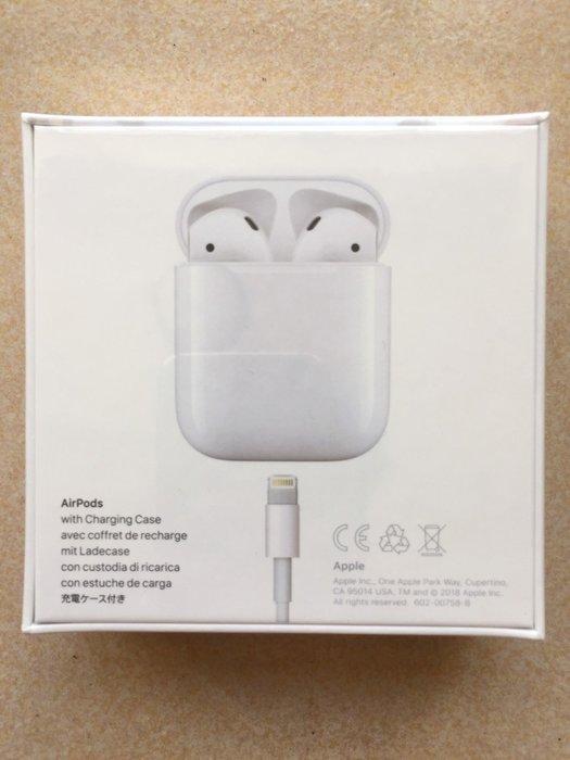 {藤井小舖}Apple AirPods 無線藍牙耳機  A1722 iPhone 全新 原廠正品