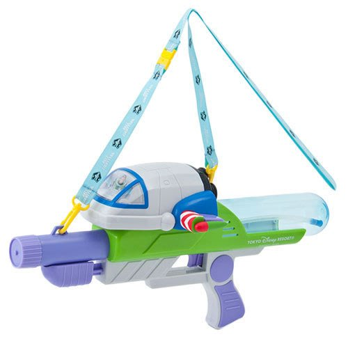 Ariel's Wish日本東京迪士尼限定玩具總動員巴斯光年噴水槍宇宙太空水槍童玩節潑水節-絕版品