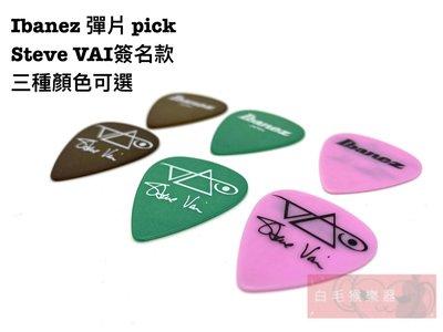 《白毛猴樂器》 Ibanez 日本製 彈片pick Steve vai簽名款 1.00mm pick 彈片 撥片
