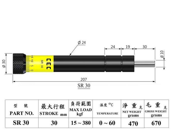 油壓精密穩速器 緩衝器 SR-30 自動控制設備用