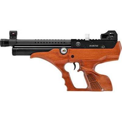 !【終極警探】AIR空氣槍-進口-HATSAN-SORTIE-W-快俠-PCP-半自動-木柄-手槍快速射擊