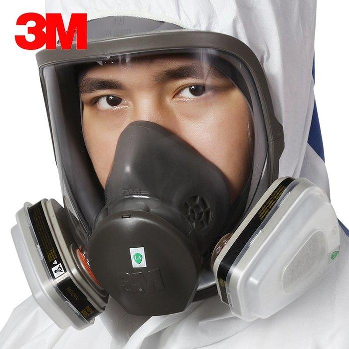 解憂zakka~ 6800+6005 防毒面具七件套 防甲醛 油漆有機氣體防塵防裝修毒氣#防護用品#勞保用品