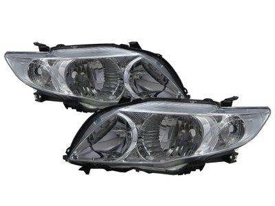 0331卡嗶車燈 TOYOTA 豐田 COROLLA E140/E150 2007-2010 四門車 晶鑽 大燈 電鍍