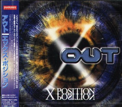 K - OUT - X-Position - 日版 1998 - NEW