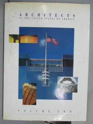 【書寶二手書T3/建築_QOL】Architects of the United States of America_V