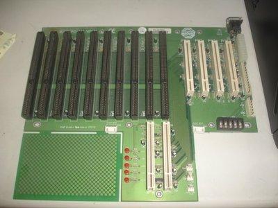 【電腦零件補給站 】威強電 PCI-14S VER:E1 PICMG1.0 工業底板