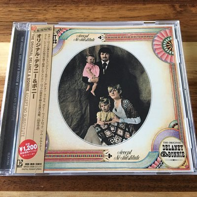 [老搖滾典藏] The Original Delaney & Bonnie-Accept No Substitute 日版專輯