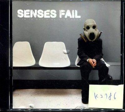 *真音樂* SENSES FAIL / LIFE 二手 K2786 (封面底破.CD有缺口不影響讀取) (清倉.下標賣5)