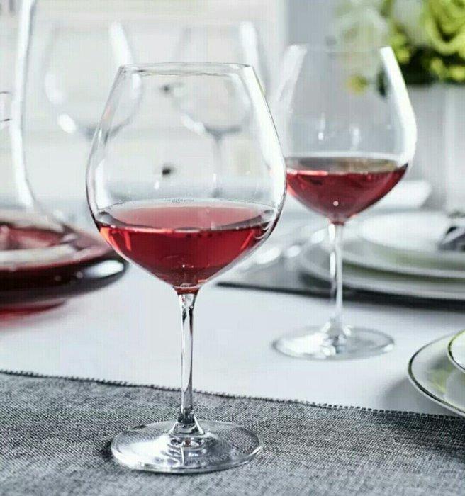 750ml水晶玻璃手工吹製紅酒杯葡萄酒杯白酒杯高腳杯【 蘇菲亞精品傢飾】