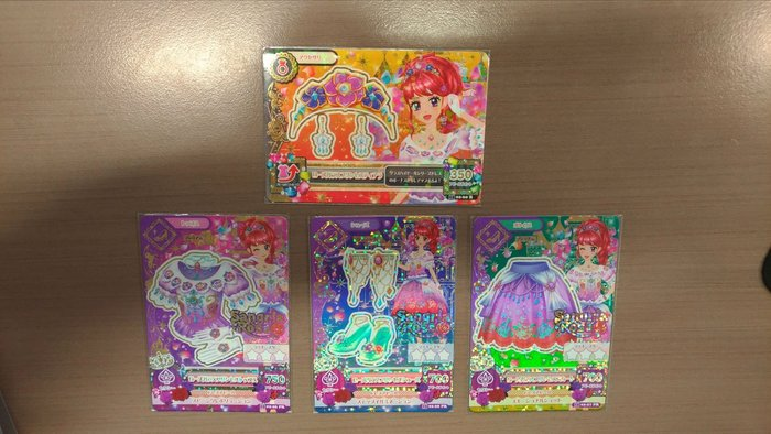 [老闆生日大特價] Aikatsu 偶像學園 第三季第二彈 紅林珠璃 玻璃公主 02-26 15 02-27 15 02-28 02-29