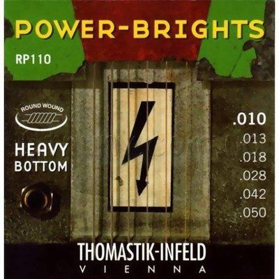 ☆ 唐尼樂器︵☆ Thomastik-Infeld POWER-BRIGHTS RP110 (10-50)手工電吉他弦